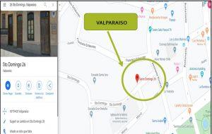Ubicación Valparaíso